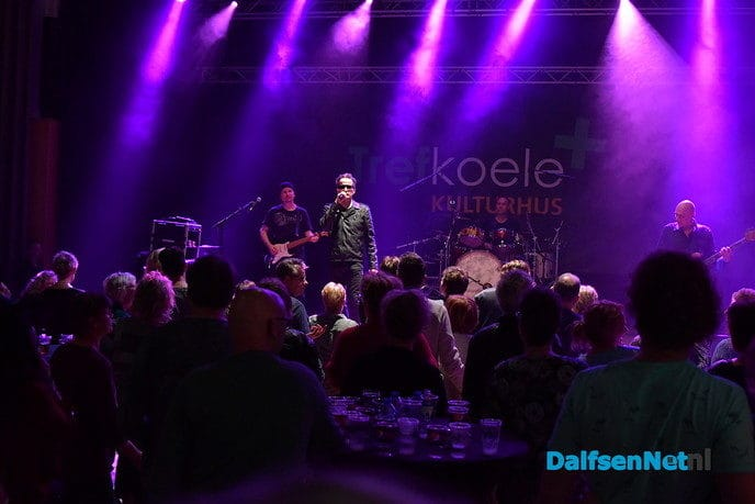 The U2 Tribute veiling in Trefkoele Plus was een succes! - Foto: Johan Bokma