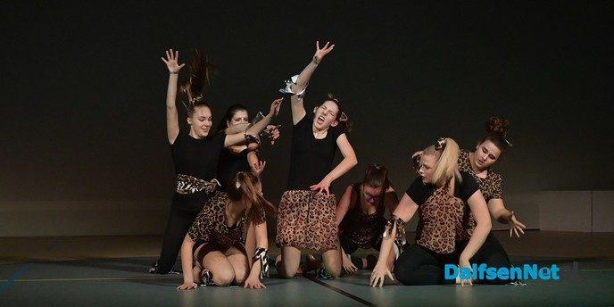 Prachtige dansshows tijdens Dance2 in de Trefkoele+ - Foto: Johan Bokma