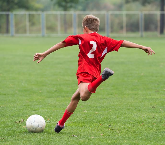 Feestelijke start Voetbalschool - Foto: Geert Bistervels