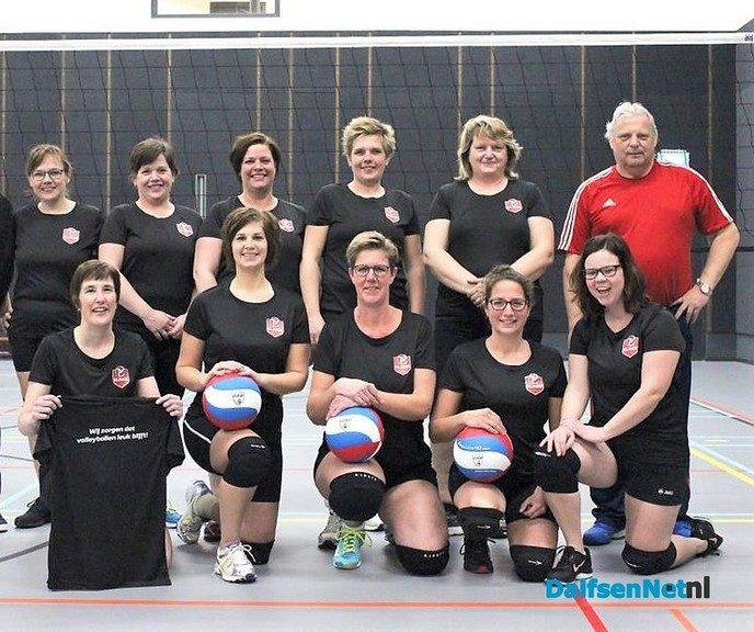 Ook zin in volleyballen op  woensdagmorgen? - Foto: Ingezonden foto