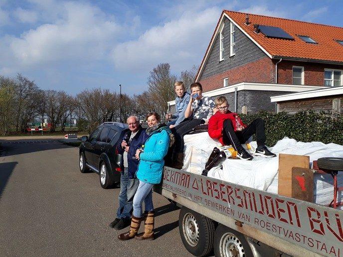 Compost actie 2019 Nieuwleusen goed verlopen - Foto: eigen geleverde foto