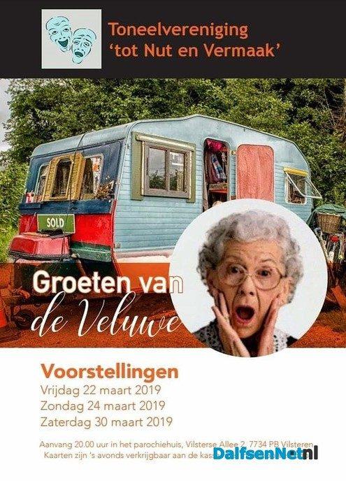 Toneelvereniging Tot Nut en Vermaak op de camping! - Foto: Ingezonden foto