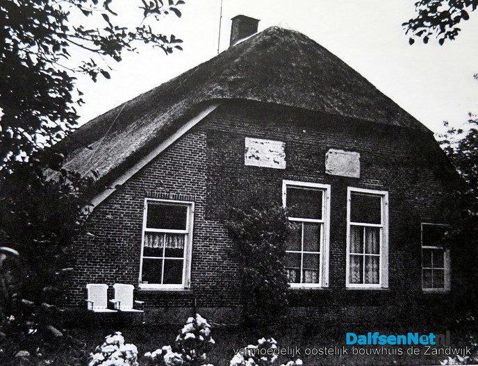 De Zandwijk, een spieker in Lenthe en hun bewoners - Foto: Wim