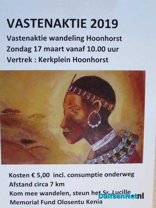 Aanstaande zondag vastenwandeling in Hoonhorst - Foto: Wim