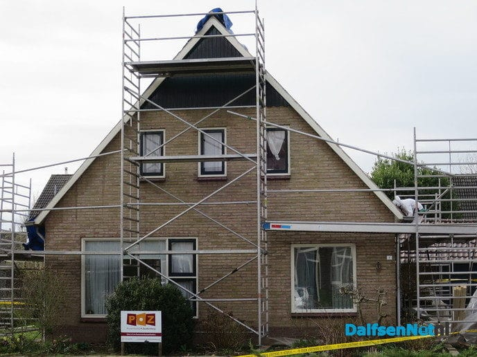 Asbestverwijdering aan de Lage Weide - Foto: Wim
