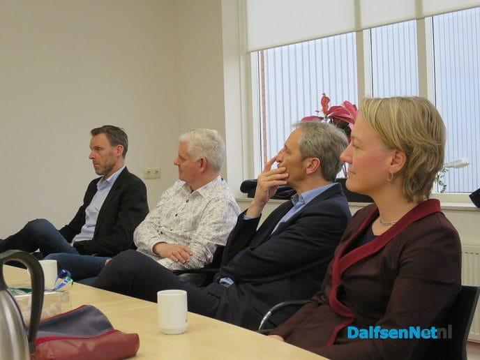 Het college van de gemeente Dalfsen bezocht Tielbeke - Foto: Wim