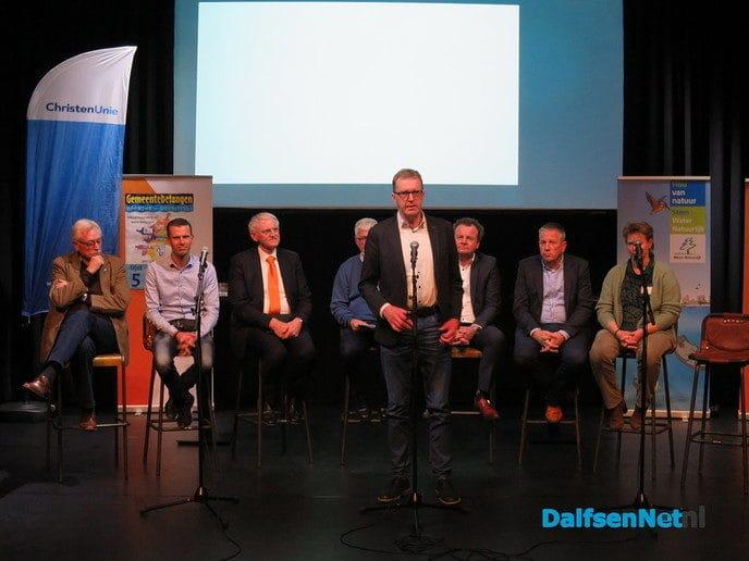 Waterschapsdebat druk bezocht - Foto: Wim