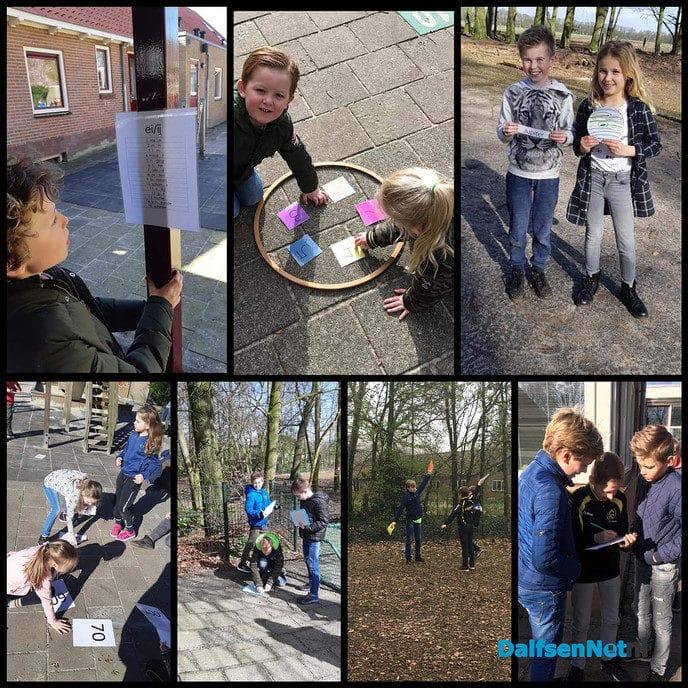 Sint Willibrordusschool Vilsteren actief met buitenlessen - Foto: Ingezonden foto