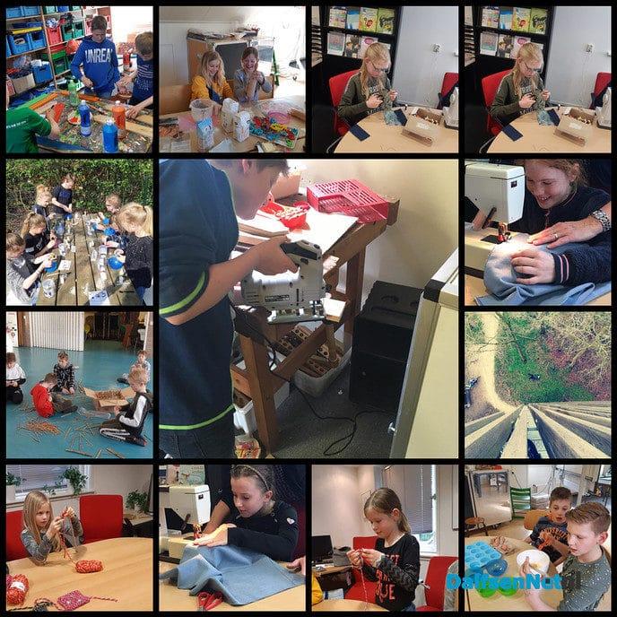 Crea-middagen Sint Willibrordusschool Vilsteren - Foto: Ingezonden foto