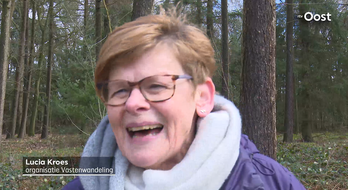 Vastenwandeling Hoonhorst: alle regen en zegen komt van boven! - Foto: eigen geleverde foto