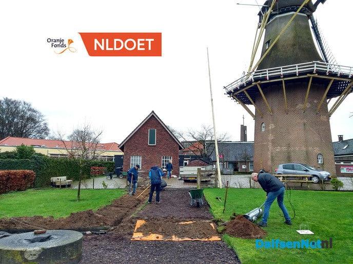NL doet in actie bij de Molen van Fakkert - Foto: Ingezonden foto