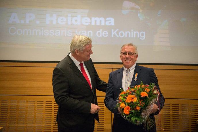 Koninklijke onderscheiding voor Statenlid - Foto: eigen geleverde foto