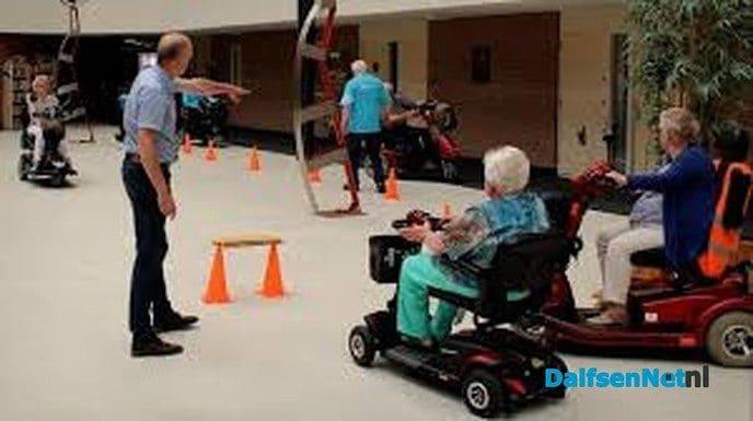 Jaarlijkse scootmobieltraining - Foto: Ingezonden foto