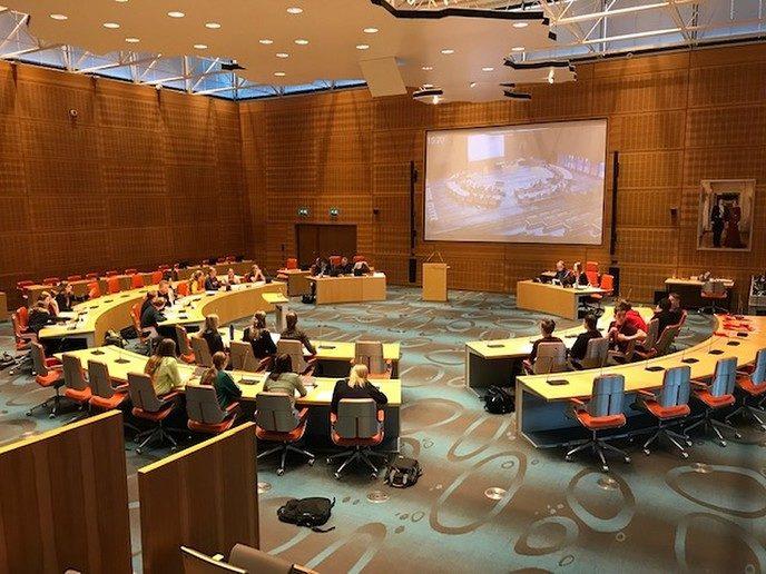 Verkiezingsdebat Agnieten College in Statenzaal - Foto: eigen geleverde foto