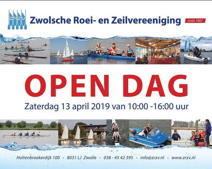 Open dag Zwolsche Roei- en Zeilvereeniging - Foto: eigen geleverde foto
