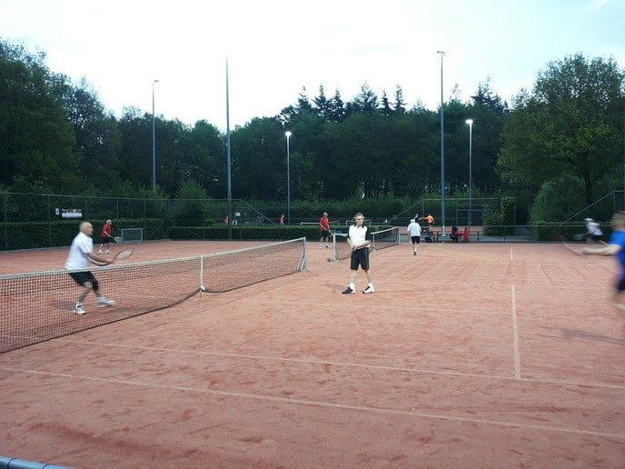 Heren 2 vrijdagavond tennis DLTC Gerner - Foto: eigen geleverde foto