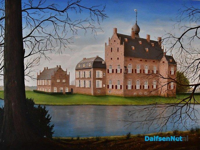 Schilderijen expositie Wim Schrijver (overdekt) - Foto: Wim