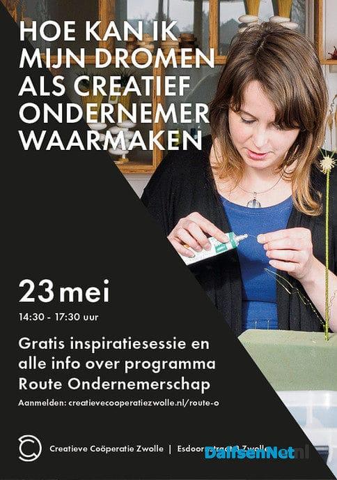 Dromen als creatief ondernemer waarmaken? - Foto: Ingezonden foto