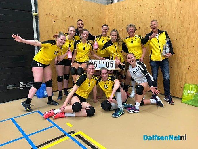 Dalvo Dames 1 sluit seizoen winnend af! - Foto: Ingezonden foto