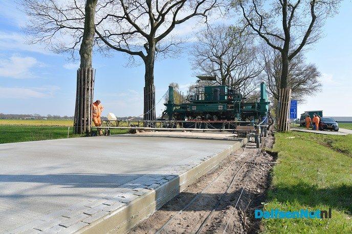 Mooi op weg met werkzaamheden Jagtlusterallee - Foto: Johan Bokma