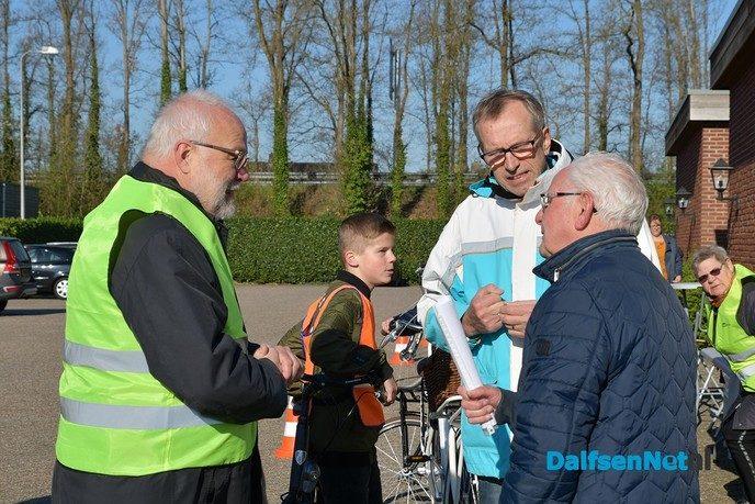 Schoolverkeersexamen Praktijk Lemelerveld. - Foto: Johan Bokma