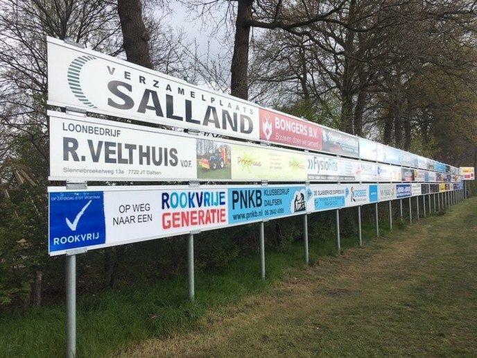 Project sponsoring VV Hoonhorst voltooid - Foto: eigen geleverde foto