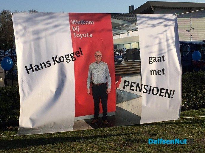 Hans Koggel met pensioen! - Foto: Ingezonden foto