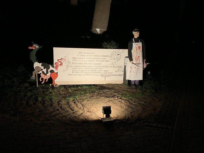 Een Abraham in Hessum - Foto: eigen geleverde foto