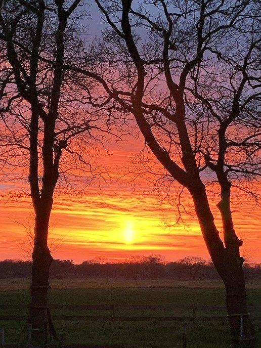 Prachtige zonsondergang - Foto: eigen geleverde foto