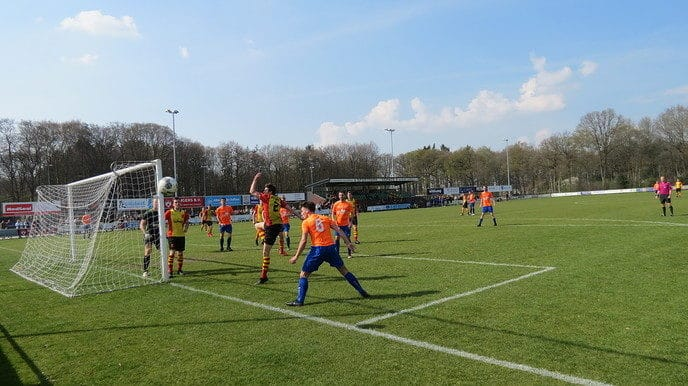 SV Dalfsen wint derde thuiswedstrijd op rij - Foto: eigen geleverde foto