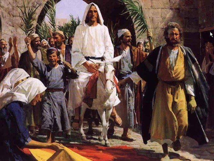 Jezus: op een viervoeter - Foto: eigen geleverde foto