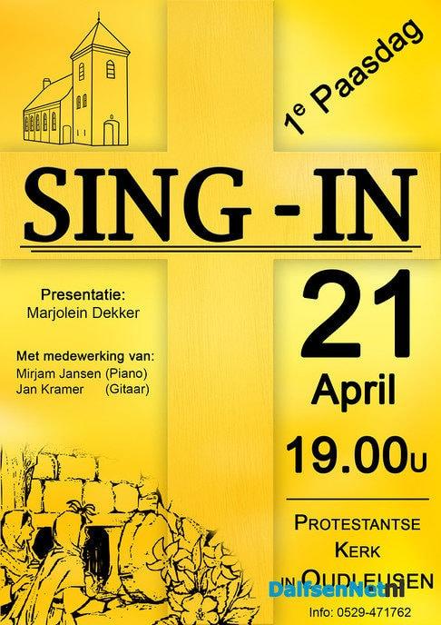 Paas Sing-in Oudleusen - Foto: Ingezonden foto