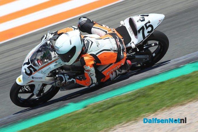 Motorcoureur Justin Fokkert leert snel - Foto: Ingezonden foto