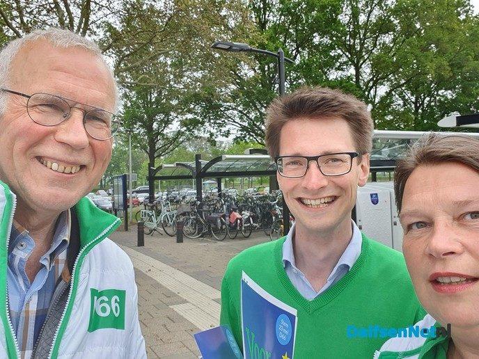 D66 Europa zichtbaar in Dalfsen - Foto: Ingezonden foto
