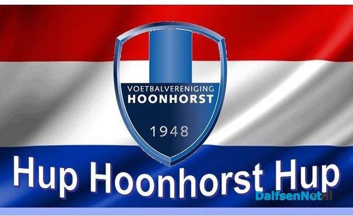 Met bus naar kampioenswedstrijd Hoonhorst 1 - Foto: Ingezonden foto