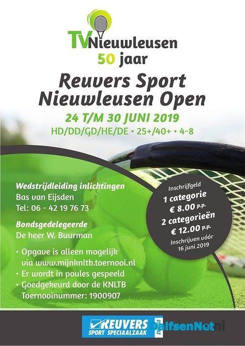 Reuvers Sport Nieuwleusen Open Tennistoernooi - Foto: Ingezonden foto