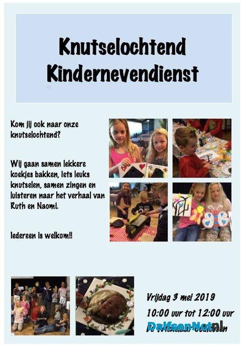 Knutselochtend Kindernevendienst Oudleusen - Foto: Ingezonden foto