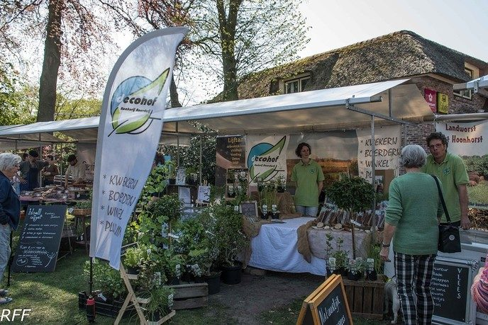 Boerenmarkt en open tuin - Foto: eigen geleverde foto