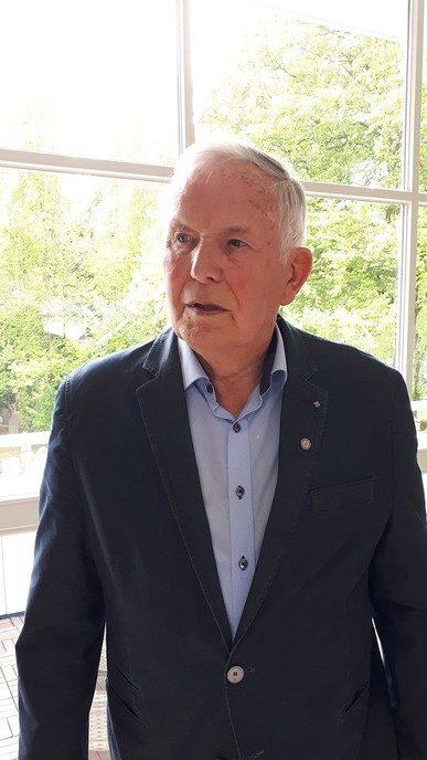 Vrijwilliger van de maand mei 2019: de heer van Bussel
