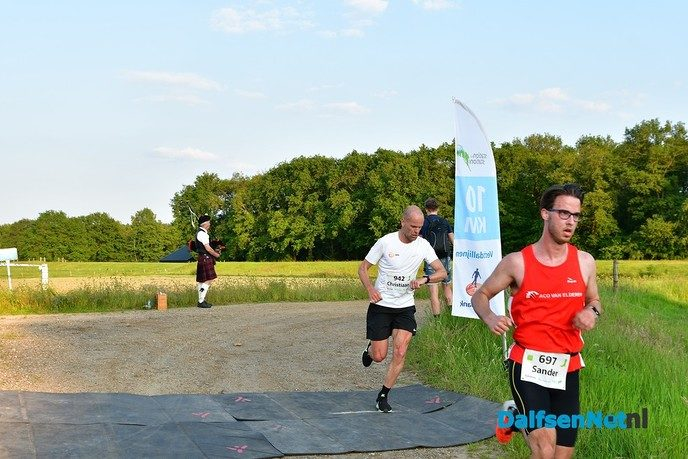 William van Eeken wint de de twaalfde Stationloop - Foto: Johan Bokma