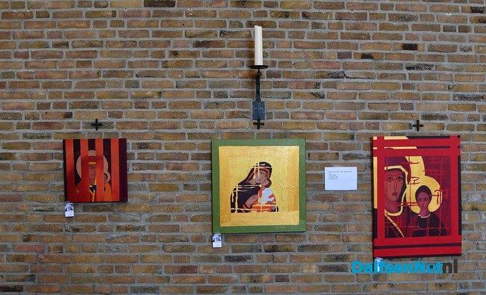 IJzer smeden tijdens Kunst om Dalfsen - Foto: Johan Bokma