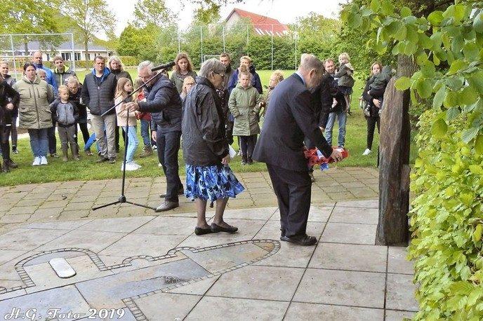 4 mei herdenking Oudleusen.
