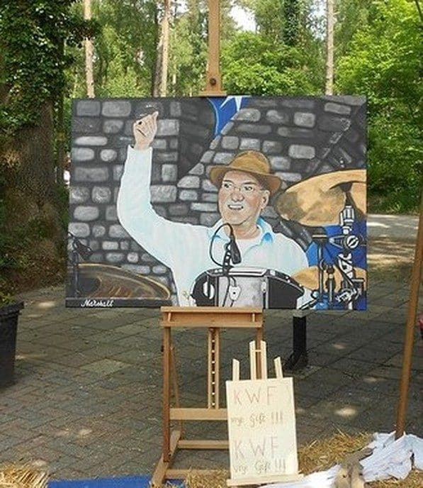 Schilderij Manschot niet geveild - Foto: eigen geleverde foto