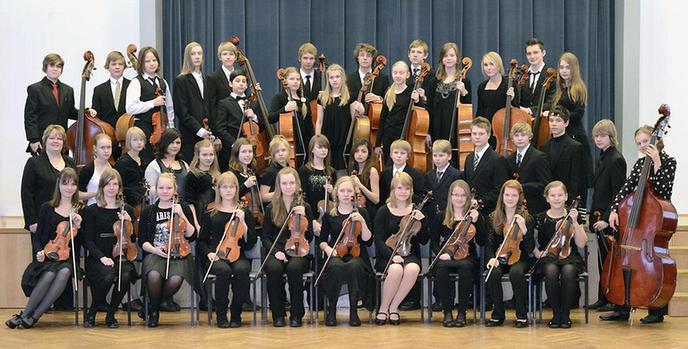 Concert Britten Jeugd Strijkorkest en Helsinki Strings in theater aan de Vecht
