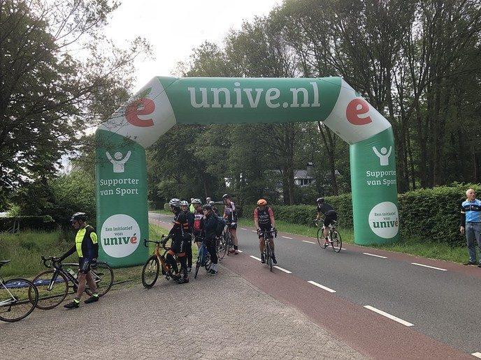 Vijfentwintigste editie Erbens Vechtdal Toer brengt 2x € 1171,00 op - Foto: eigen geleverde foto