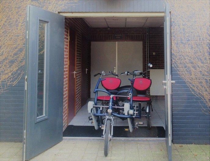Duofiets Oudleusen - Foto: eigen geleverde foto