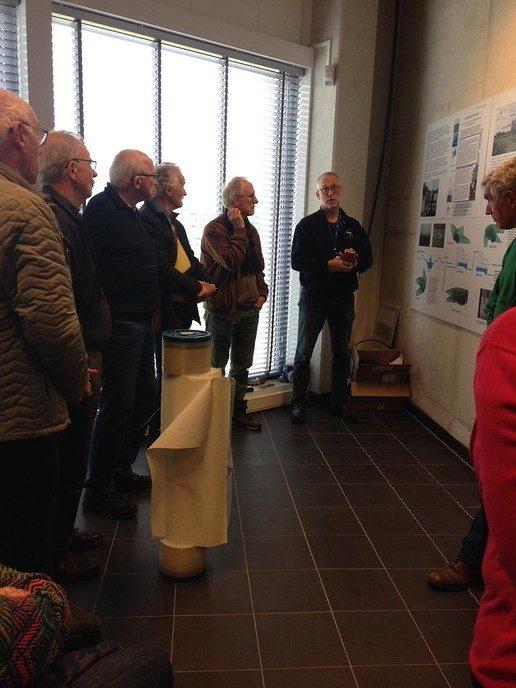 Excursie Vrienden van Dalfsen naar Vitens - Foto: eigen geleverde foto