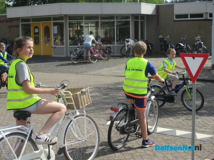 """"""" Fietstraining voor leerlingen  Basis Onderwijs """" - Foto: Ingezonden foto"""