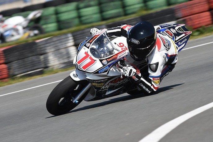 Dalfser racer Loris Veneman wint in Berghem - Foto: eigen geleverde foto