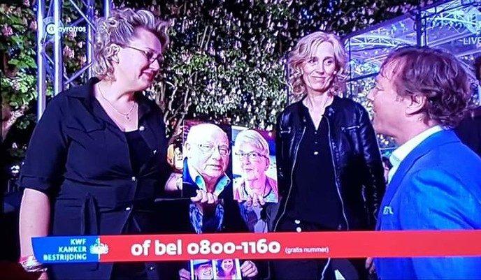 Dalfser zussen halen 1100 euro op voor televisieactie KWF